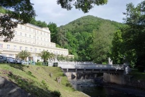 Kuren in Tschechien: Umgebung des Parkhotel Richmond in Karlsbad Karlovy Vary