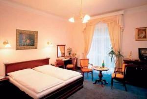 Kuren in Tschechien: Wohnbeispiel im Parkhotel Richmond in Karlsbad Karlovy Vary