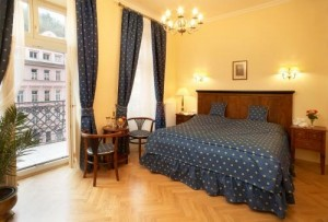 Kuren in Tschechien: Zimmerbeispiel im SPA Hotel Salvator in Karlsbad Tschechien