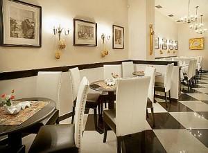 Kuren in Tschechien: Restaurant des SPA Hotel Salvator in Karlsbad Tschechien