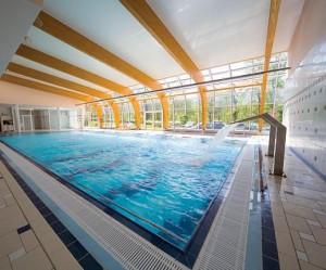 Kuren in Tschechien: Hallenbadansicht im Spa Resort Sanssouci in Karlsbad Karlovy Vary