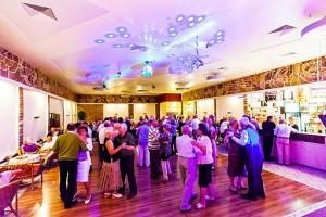 Kuren in Polen: Tanzveranstaltungen im Sanatorium San in Kolberg Kolobrzeg Ostsee