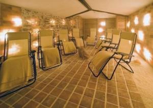 Kuren in Tschechien: Salzgrotte im Spa Resort Sanssouci in Karlsbad Karlovy Vary