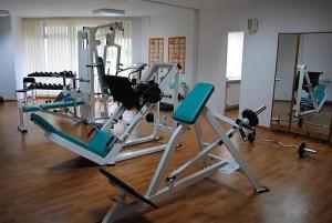 Kuren in Polen: Fitnessarea vom Sanatorium San in Kolberg Kolobrzeg Ostsee