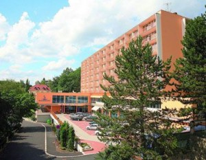 Kuren in Tschechien: Ansicht vom Spa Resort Sanssouci in Karlsbad Karlovy Vary