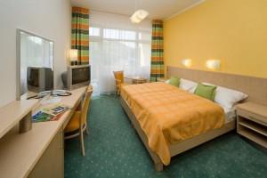 Kuren in Tschechien: Wohnbeispiel im Blue House des Spa Resort Sanssouci in Karlsbad Karlovy Vary