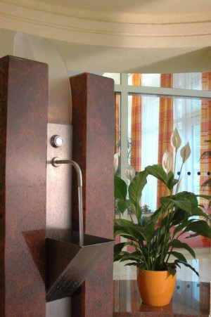 Kuren in Tschechien: Quelle im des Spa Resort Sanssouci in Karlsbad Karlovy Vary