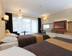 Kuren in Polen: weiteres Wohnbeispiel im neuen Hotelteil des Hotel Unitral in Mielno
