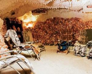 Kuren in Polen: Salzkammer des Kurhotel Wolin in Misdroy Miedzyzdroje Ostsee