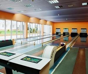 Kuren in Polen: Bowlingbahn vom Kurhotel Wolin - Misdroy Miedzyzdroje Ostsee Polen