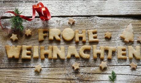 Frohe Weihnachten - © gänseblümchen  / pixelio.de
